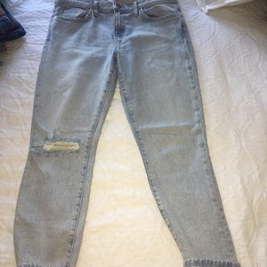 Current/Elliott The Fling straight jeans